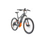 HAIBIKE SDURO HardSeven 2.0 E-MTB Hardtail orange/black